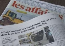 Milan Conception sur l'échiquier mondial du secteur automobile